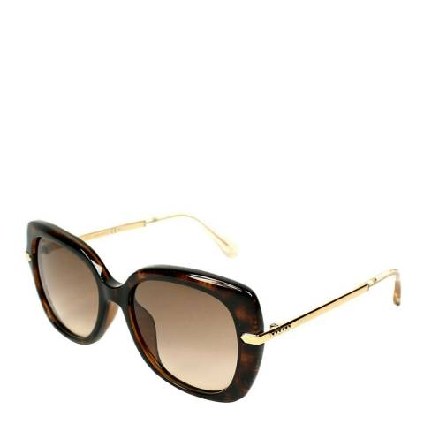 Jimmy Choo Women's Brown/Rose Gold Jimmy Choo Sunglasses 53mm