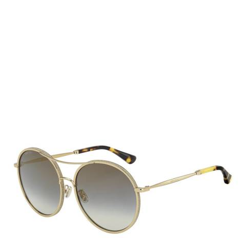 Jimmy Choo Women's Grey/Gold Jimmy Choo Sunglasses 60mm