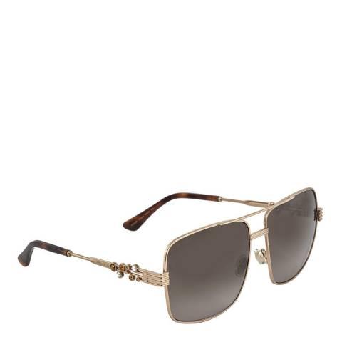 Jimmy Choo Women's Grey/Gold Jimmy Choo Sunglasses 61mm