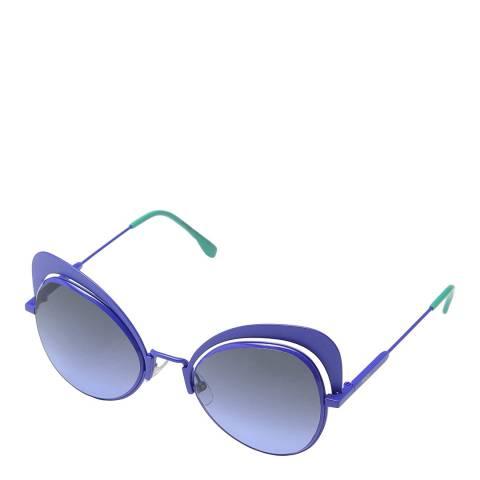 Fendi Women's Blue Fendi Sunglasses 54mm