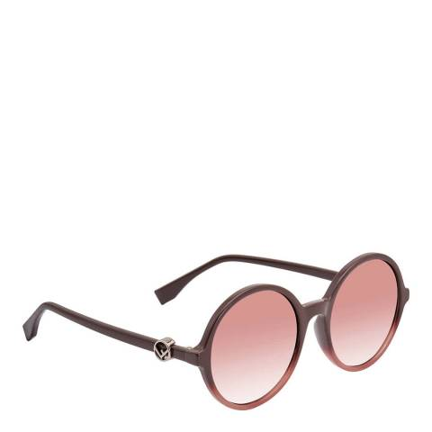 Fendi Women's Cherry/Pink Fendi Sunglasses 55mm
