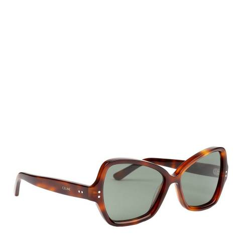Celine Women's Brown Celine Sunglasses 56mm