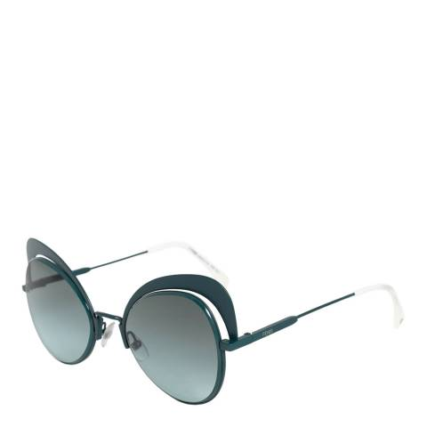 Fendi Women's Green/Grey Fendi Sunglasses 54mm
