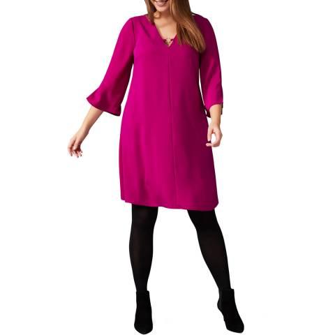 Studio 8 Deep Pink Eden Swing Dress