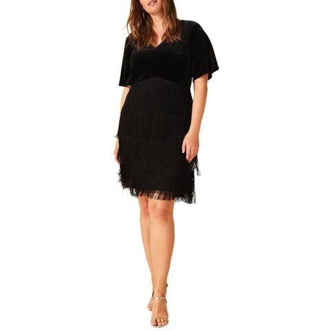 Studio 8 Black Felicity Fringe Dress