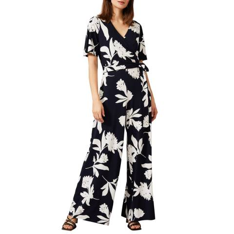 Phase Eight Ivory Cerys Print Jumpsuit