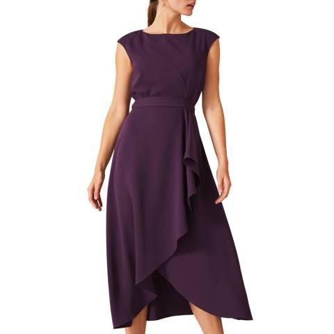 Phase Eight Purple Rushelle Dress