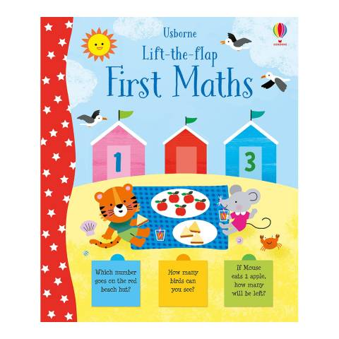 Usborne Books Lift The Flap First Maths