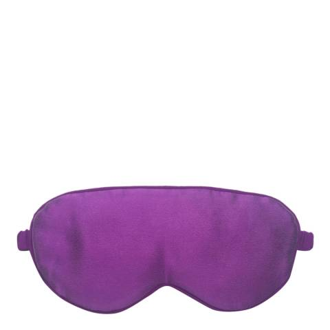 JayLey Collection Purple Hand Made Pure Silk Eye Mask