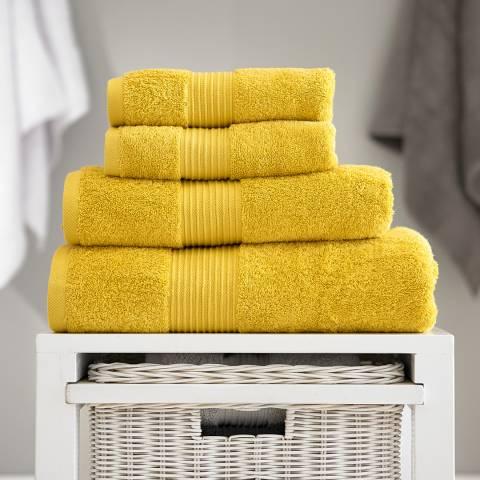 Deyongs Spa Pair of Hand Towels, Mustard