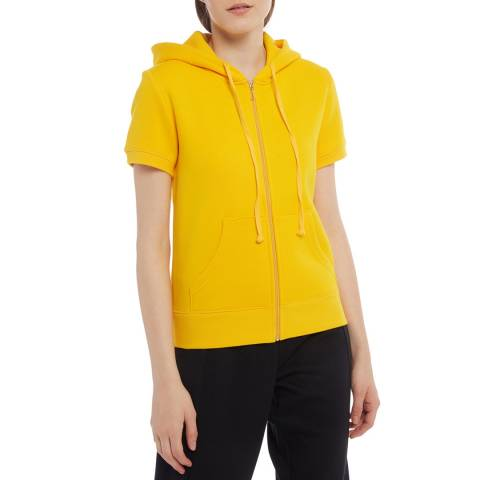 Juicy Couture Yellow Short Sleeve Hoody