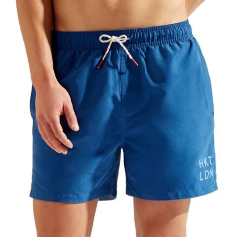 Hackett London Blue Core Swim Shorts