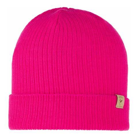 Rossignol Bright Pink Lana Beanie Hat