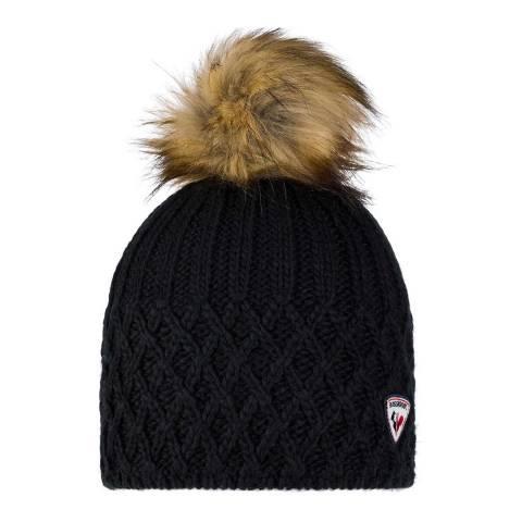 Rossignol Black Isy Beanie Hat