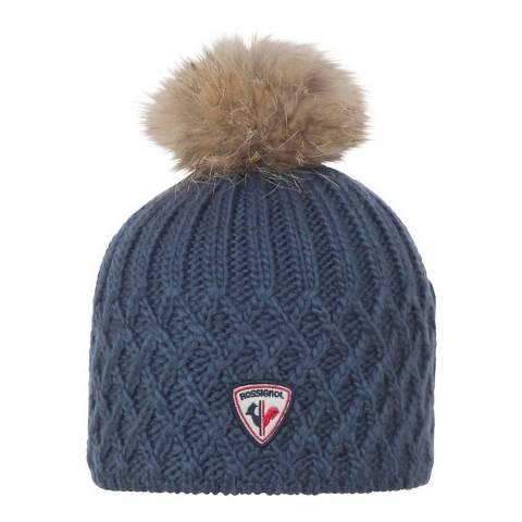 Rossignol Dark Blue Isy Beanie Hat