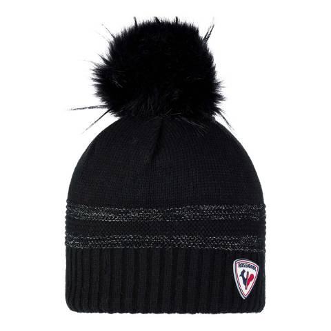 Rossignol Black Jily Beanie Hat