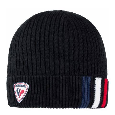 Rossignol Black Matt Beanie Hat