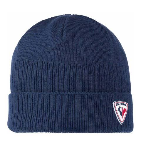 Rossignol Dark Blue Ron Beanie Hat