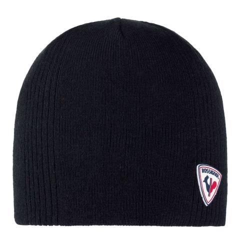 Rossignol Black Hug Beanie Hat