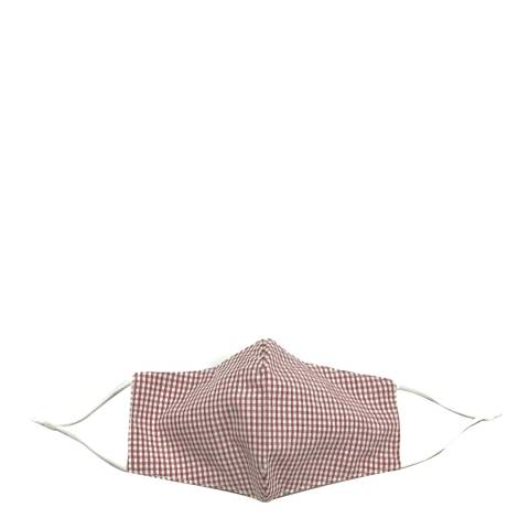 JayLey Collection Red/White Gingham Face Mask