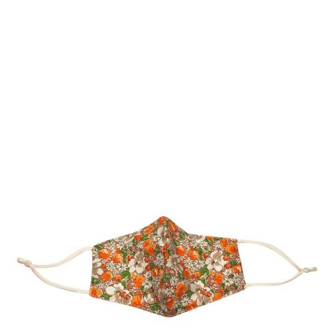 JayLey Collection Orange/Green Floral Face Mask