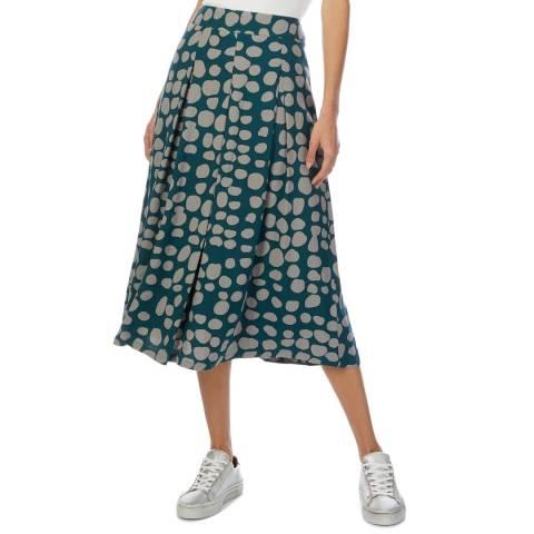 White Stuff Multi-Coloured Painterly Skirt