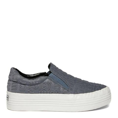 Juicy Couture Grey JB099310 Slip On Sneakers