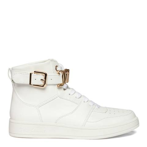 Juicy Couture White B4JJ200100 High Top Sneakers