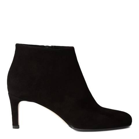 Hobbs London Black Fine Suede Lizzie Ankle Boot