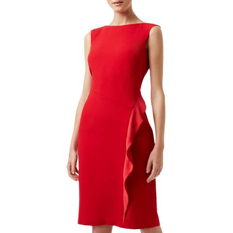 Hobbs London Red Elida Dress