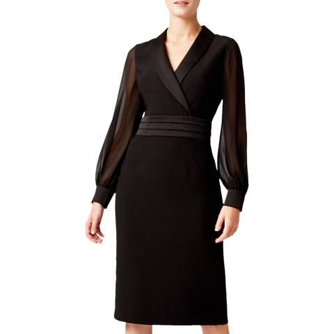 Hobbs London Black Fridah Tux Dress
