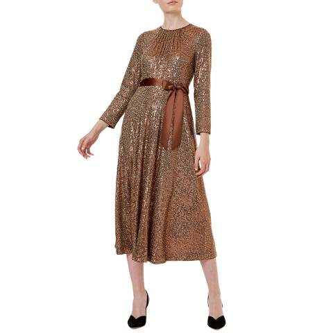 Hobbs London Copper Salma Dress