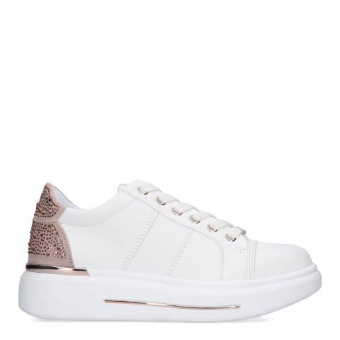 Carvela White Jubilate Sneakers