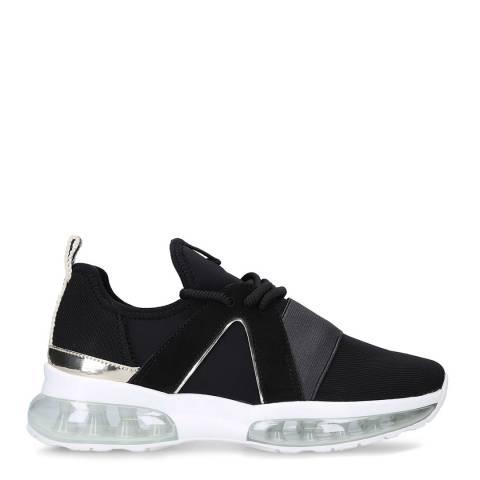 Carvela Black Lament Bubble Sneakers