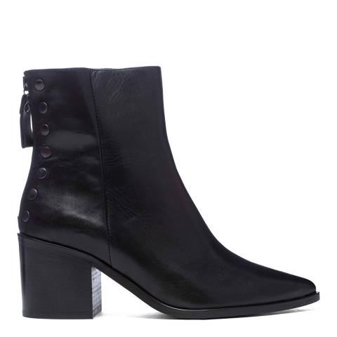 Carvela Black Leather Slight Ankle Boots