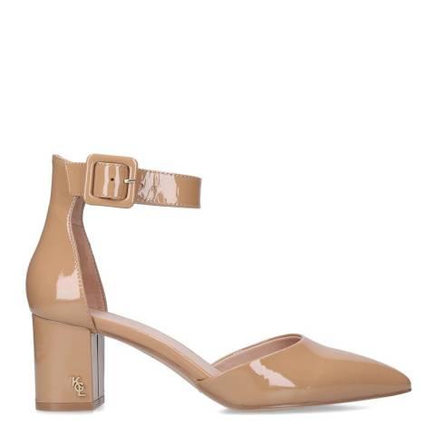 Kurt Geiger Camel Patent Burlington Court Shoes