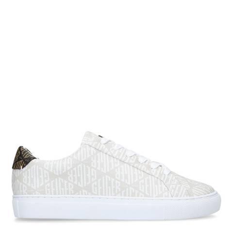 Kurt Geiger White Multi Lane Mono Sneakers