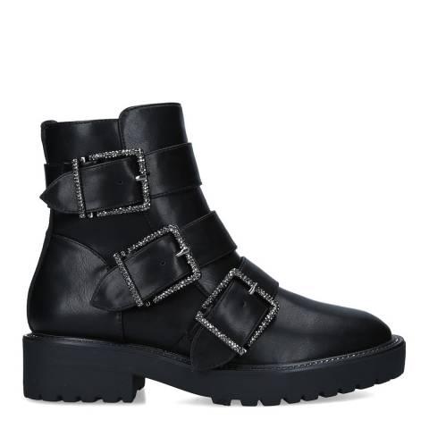 Kurt Geiger Black Trixie Ankle Boots