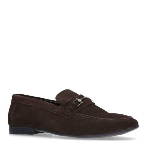 Kurt Geiger Brown Suede Melton 2 Casual Shoes
