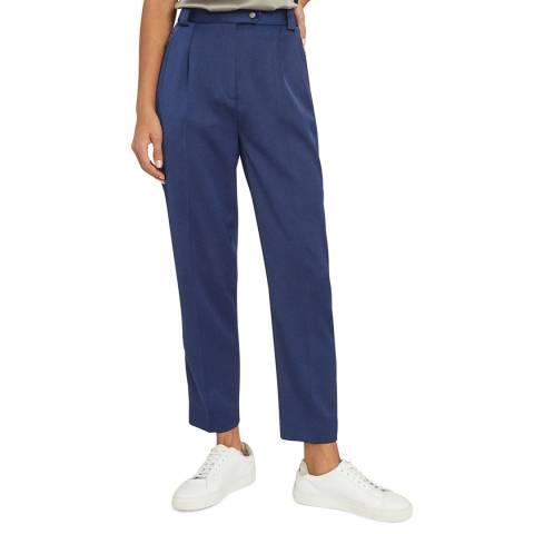 Reiss Navy Jaida Tailored Trousers