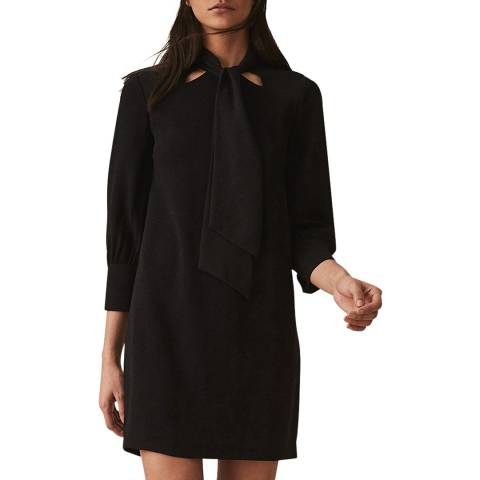 Reiss Black Yolanda Dress