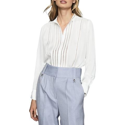 Reiss White Evelyna Shirt