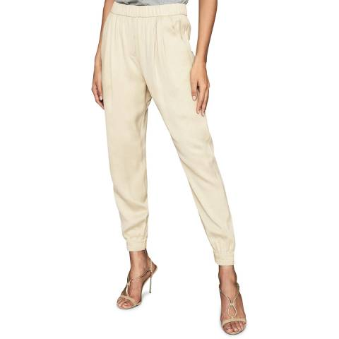 Reiss Neutral Sofie Slim Joggers