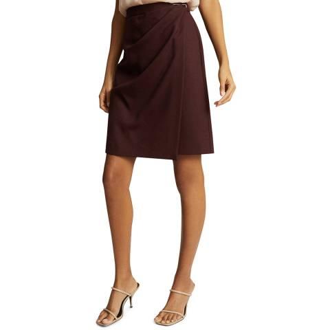 Reiss Berry Hayes Wool Blend Pencil Skirt