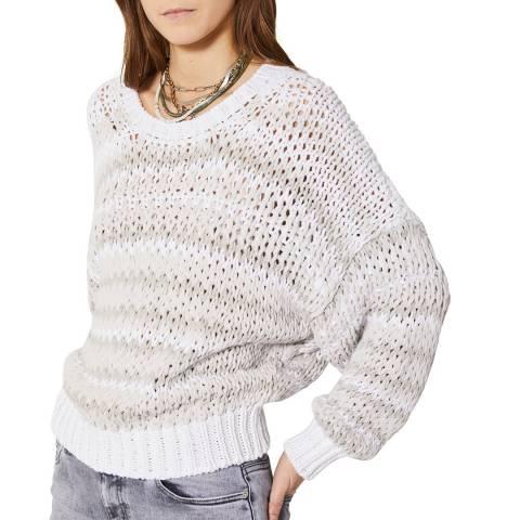 IRO Grey Stripe Azalea Jumper