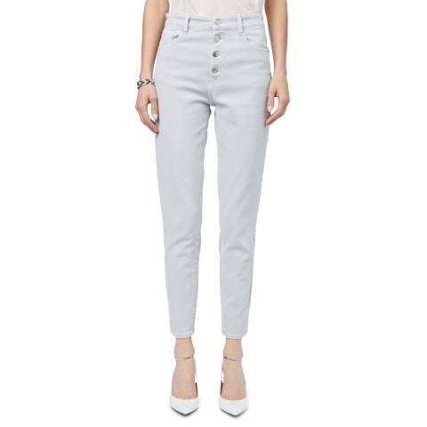 IRO Grey Slim Sorbon Stretch Jeans