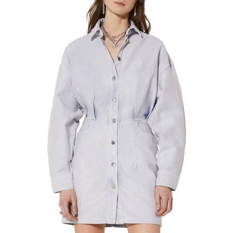 IRO Bleached Denim Raffa Dress