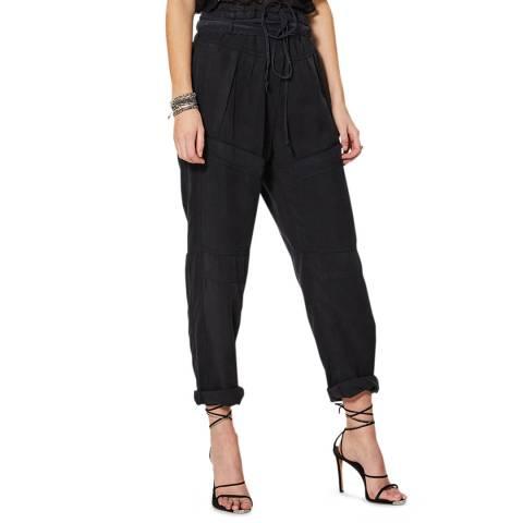 IRO Black Tie Waist Dolci Trousers