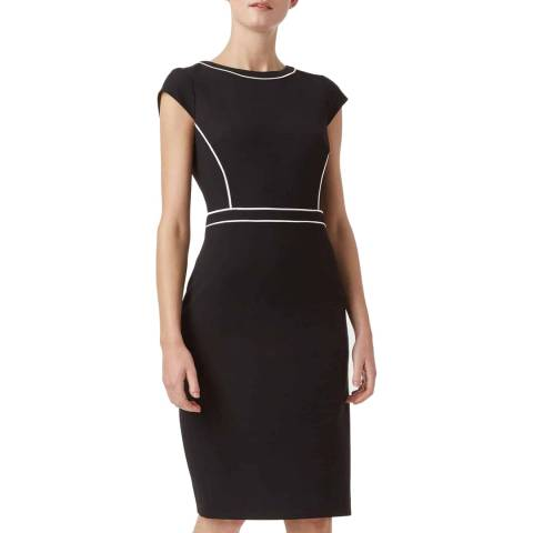 Hobbs London Black Cordelia Dress