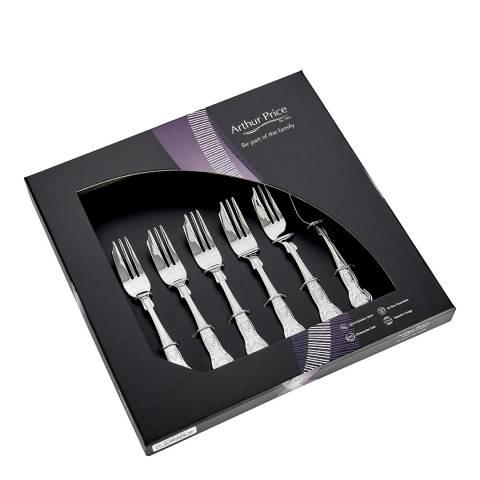 Arthur Price 6 Piece Kings Pastry Forks Box Set